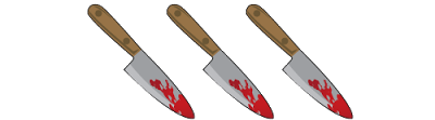 3 stabs